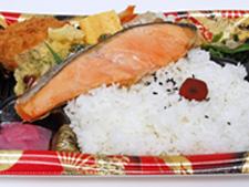 厚切銀鮭弁当