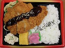 北海道産チキンカツ弁当